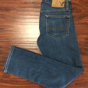 American Eagle 28/28 Womens Skinny Blue Jeans